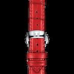 Tissot Chemin Des Tourelles Powermatic 80 Lady Red Strap
