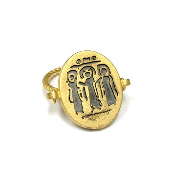 Gold Egyptian Ring
