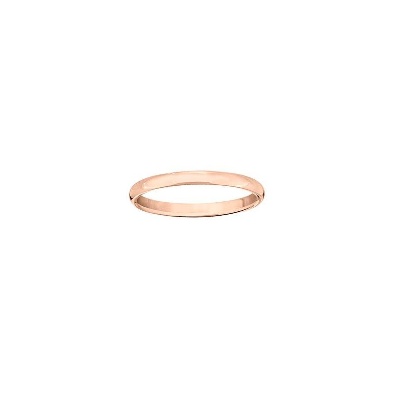 Guertin 14k Rose Gold 2.5mm Band