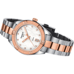 Tissot PR100 Two Tone Rose Sport Chic