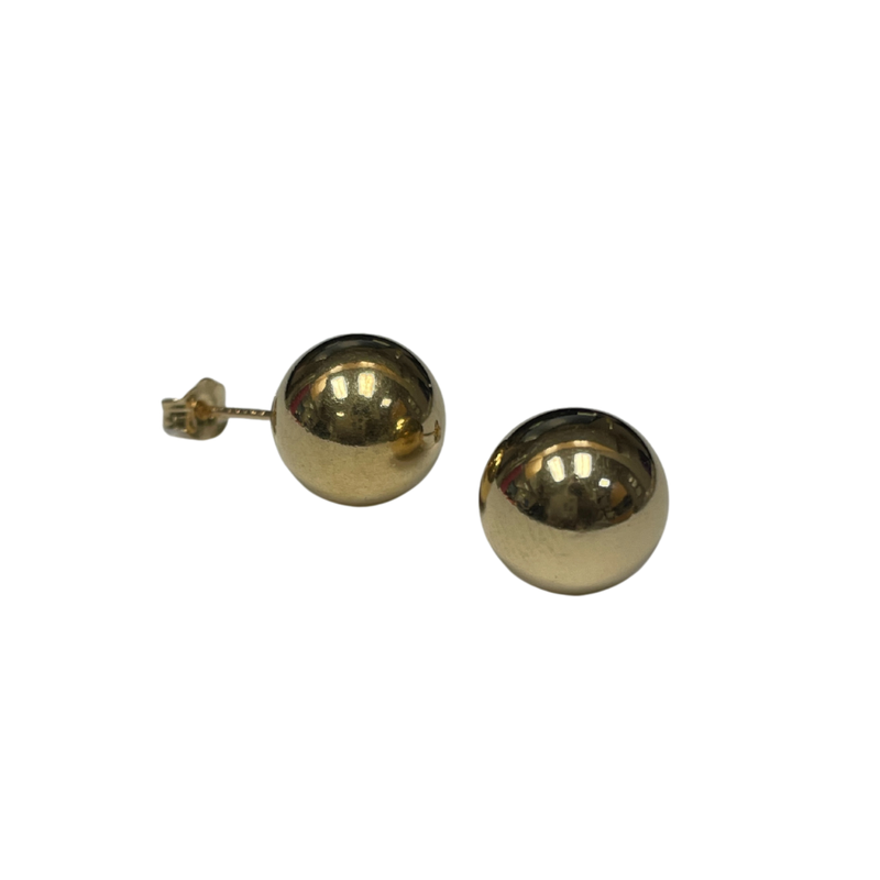 Antique, Estate & Consignment 9.7mm Ball Stud Earrings