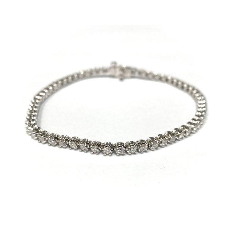 Antique, Estate & Consignment Diamond Tennis Bracelet - 1.50 Carats