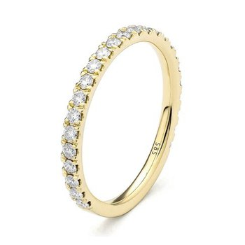 0.50 Carat Diamond Band - Yellow Gold