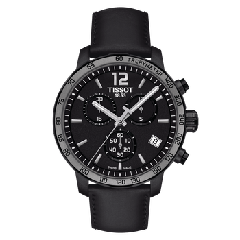 Black Quickster Chronograph
