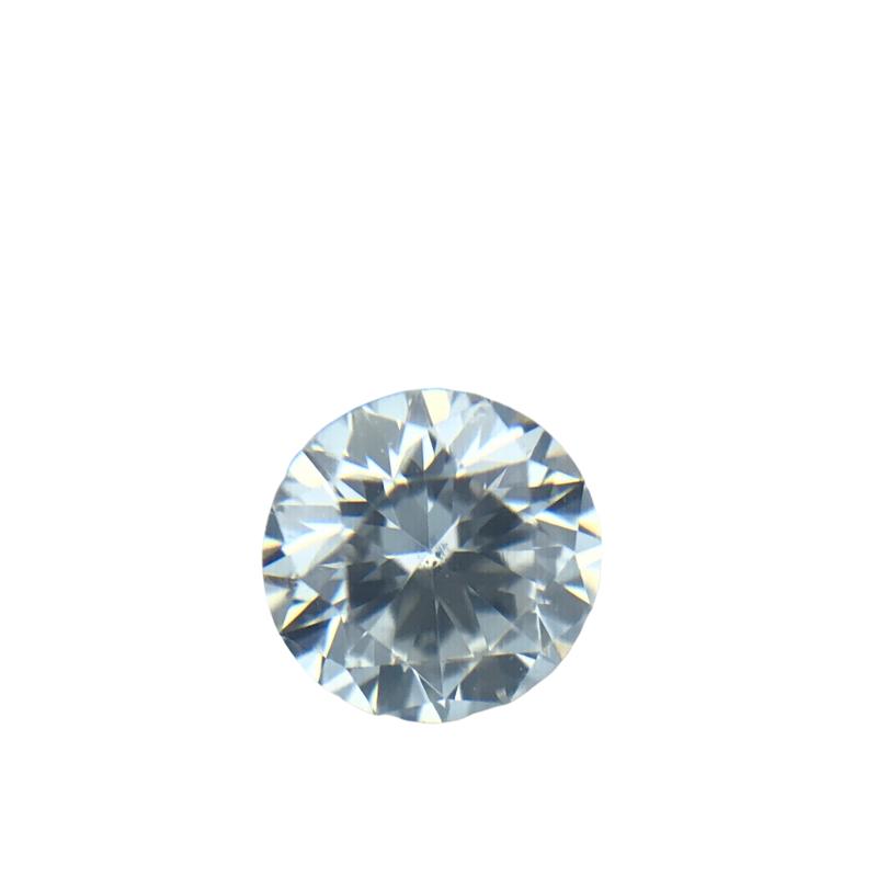 Hurdle's Loose Diamonds 0.23 Carat Round Brilliant Cut IGI G / SI1