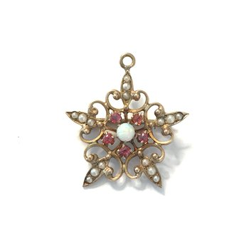 Star Pendant/Pin