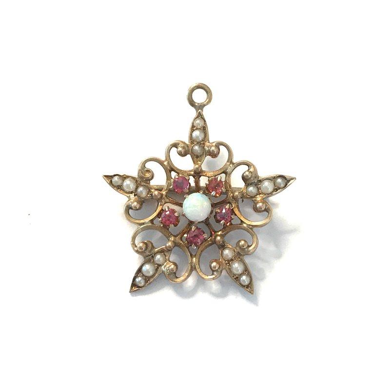 Antique, Estate & Consignment Star Pendant/Pin