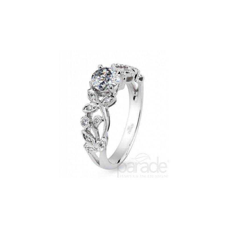 Parade Design Lyria Bridal Floral Engagement Ring R0926