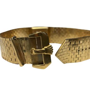 Vintage 18k Gold Rolex Watch