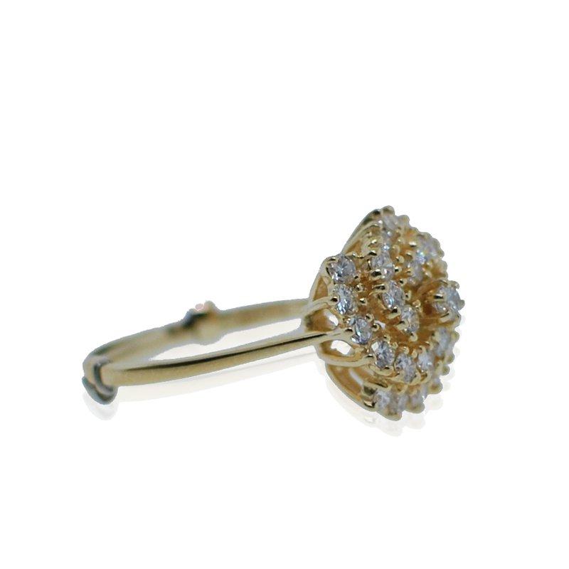 Antique, Estate & Consignment Diamond Cluster Ring