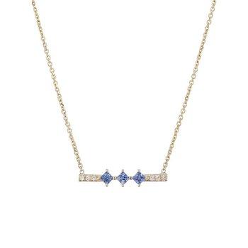 Sapphire Harmony Necklace