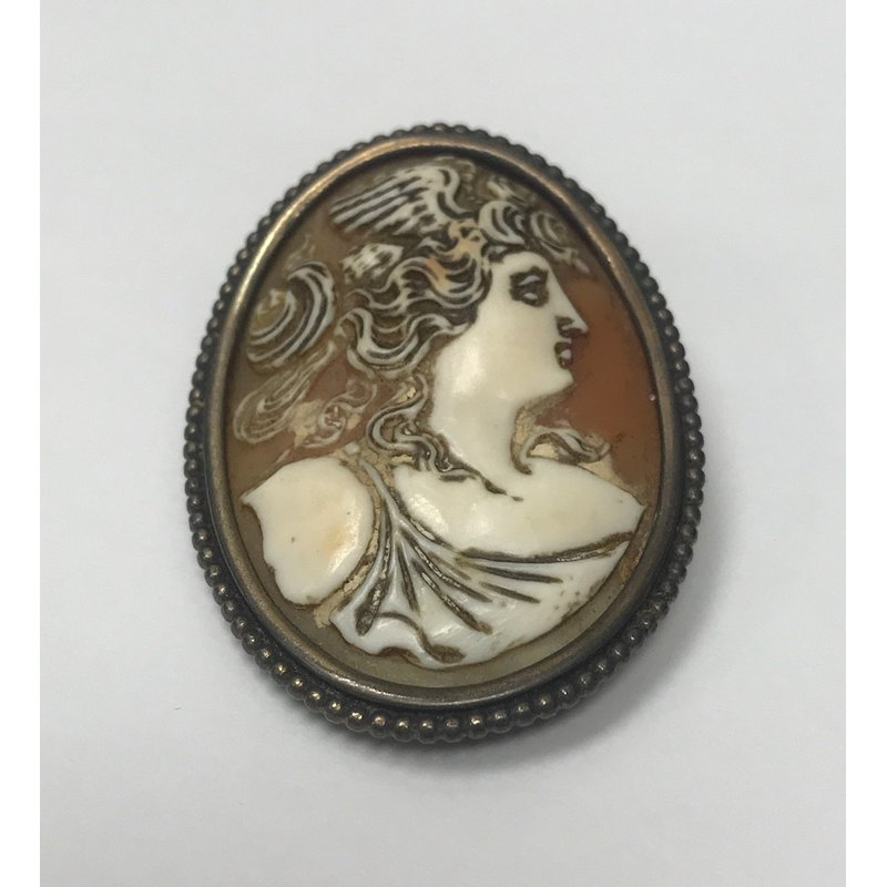 Antique, Estate & Consignment Vintage Cameo Pin