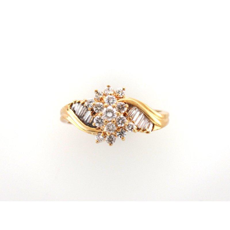 Antique, Estate & Consignment Vintage Diamond Cluster Ring