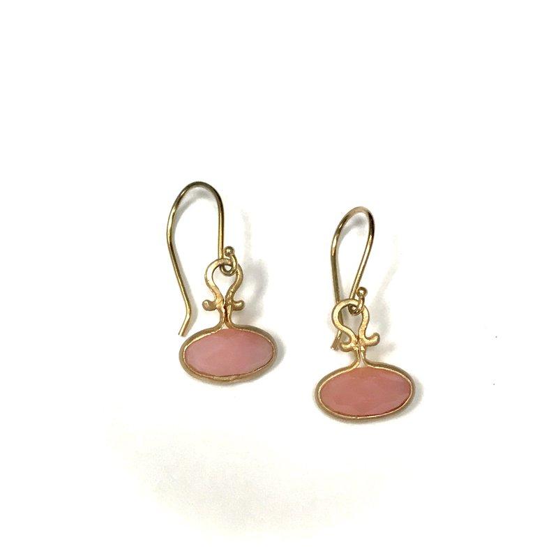 Jennifer Dawes Design Pink Opal Earrings