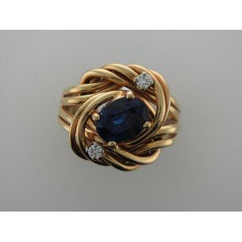 Sapphire Nest Ring