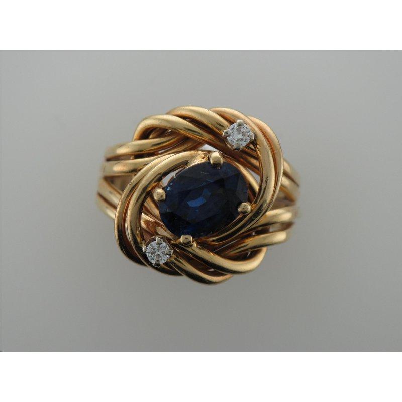 Antique, Estate & Consignment Sapphire Nest Ring