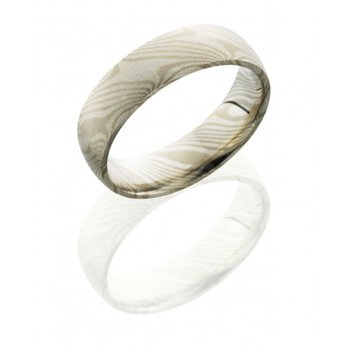 Mokume 5mm Domed Band