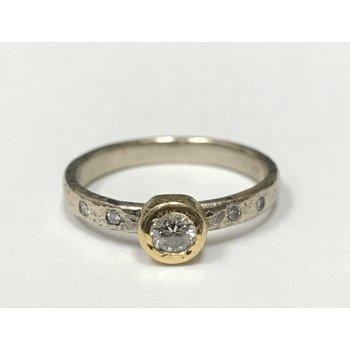Yasuko Azuma Diamond Bezel Ring
