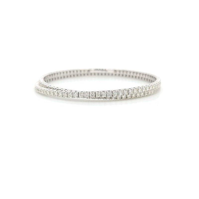 IDD Jewelry Double Wrap Diamond Tennis Bracelet