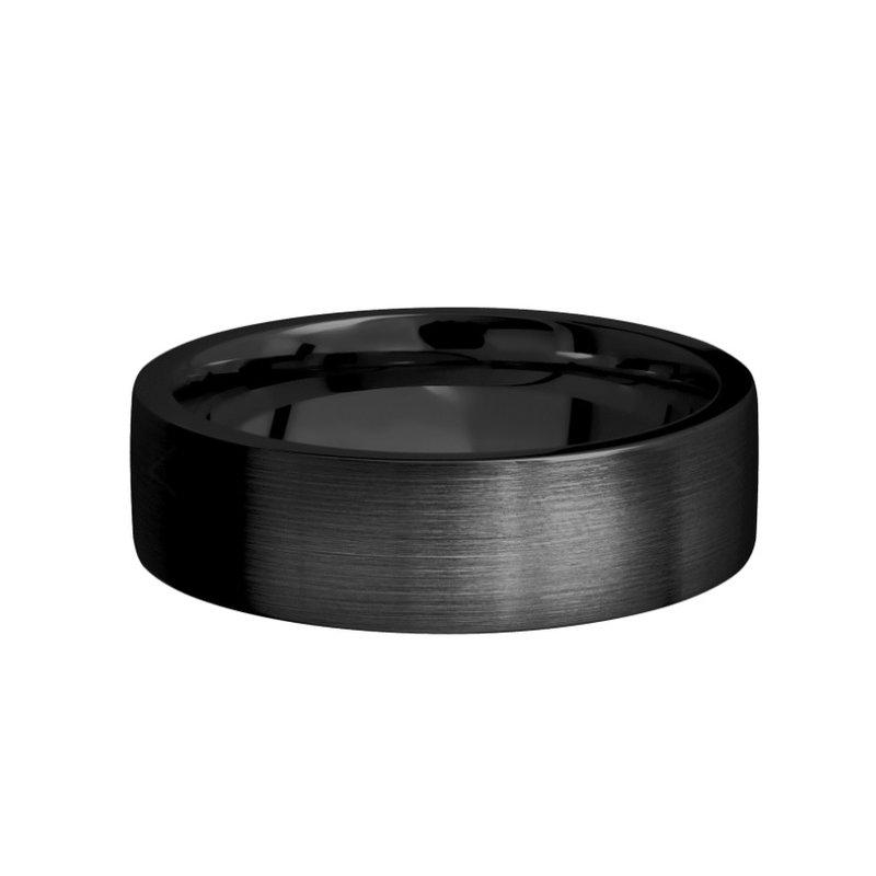 Lashbrook Flat Zirconium Band 7mm