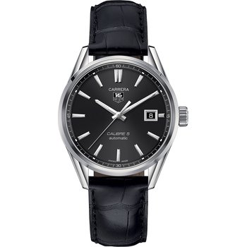 Carerra Calibre 5 Automatic - 39mm Black Dial