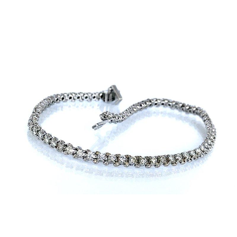 Antique, Estate & Consignment 2.00 Carat Diamond Tennis Bracelet