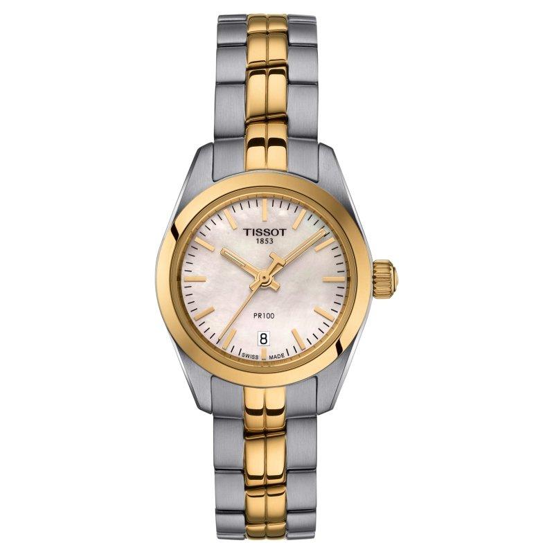 Tissot Two Tone PR100 Watch