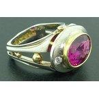 Richard Kimball Pink Tourmaline Ring