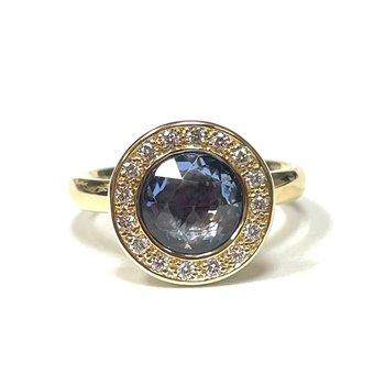 Pre-Owned Anne Sportun Sapphire Ring