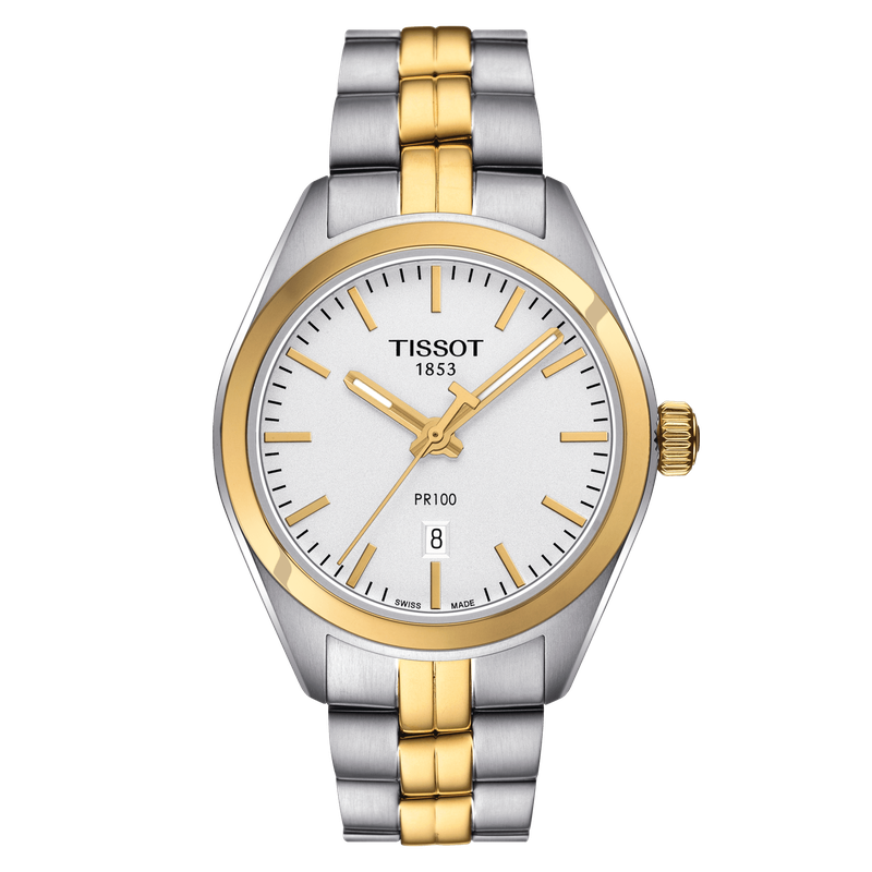 Tissot PR100 Two Tone Lady