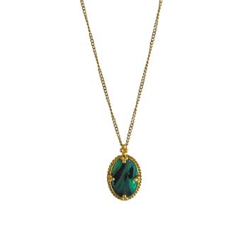 Mini Boulder Opal Necklace