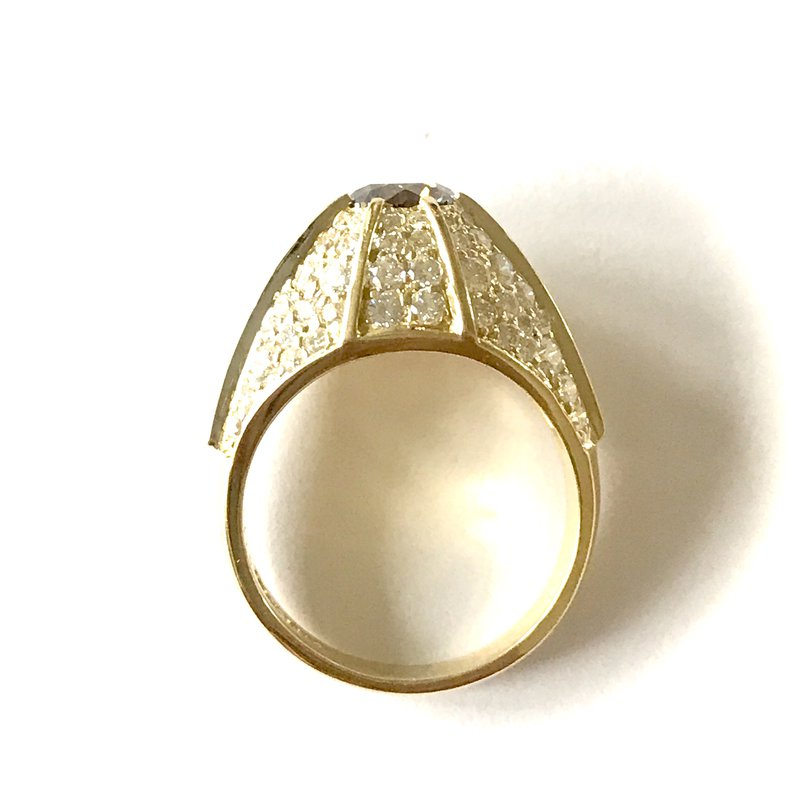 Antique, Estate & Consignment Brown Diamond Ring