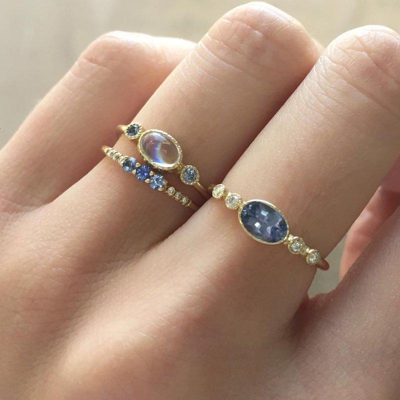 Jennie Kwon Moonstone Reese Ring