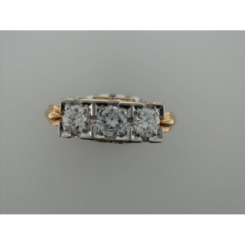 Antique, Estate & Consignment Vintage Diamond Three Stone Ring