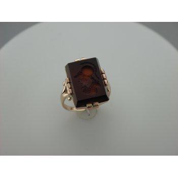 Sardonyx Intaglio Ring