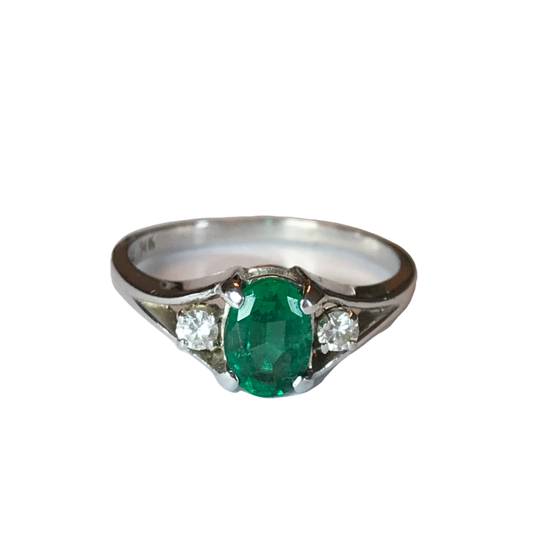 Antique, Estate & Consignment Emerald & Diamond Ring