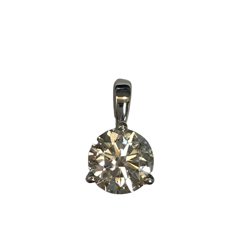 Hurdle's Jewelry Collection 0.93 Carat Solitaire Pendant