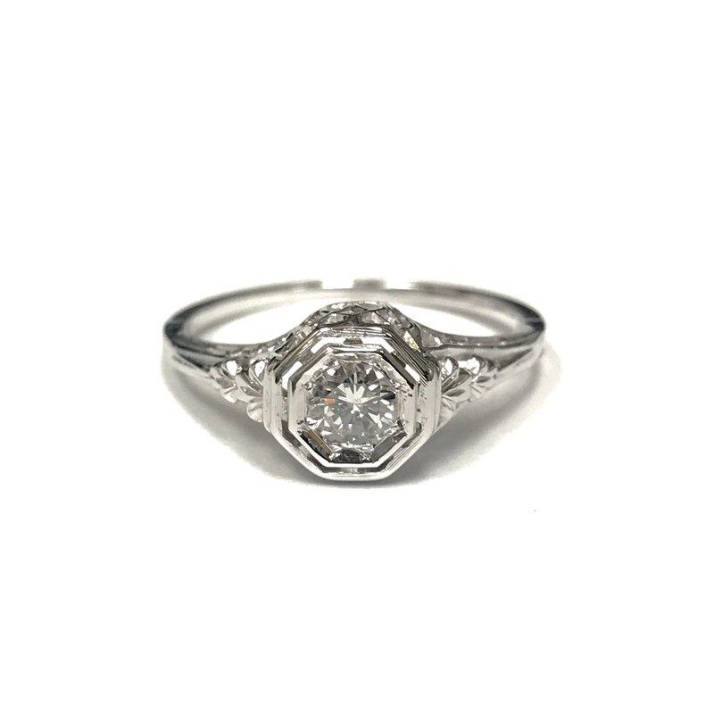 Antique, Estate & Consignment Vintage Filigree Diamond Ring