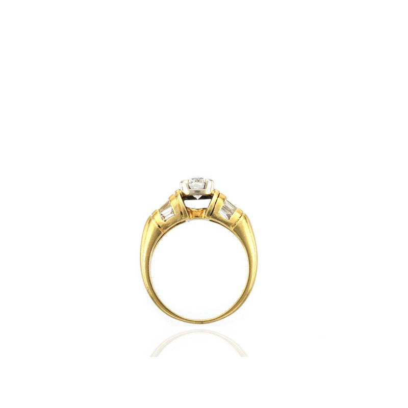 Antique, Estate & Consignment Yellow Gold Diamond Engagement Ring