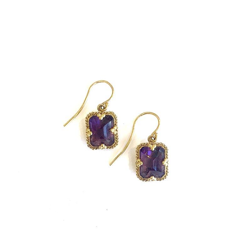 Amali Amethyst Earrings