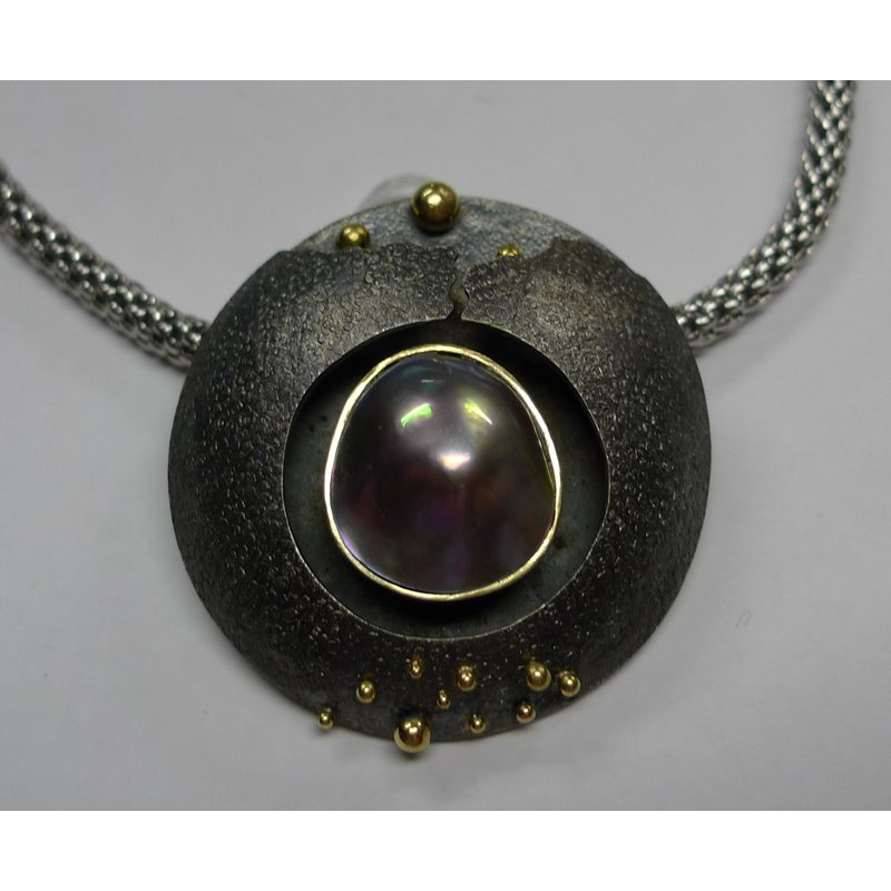 Richard Kimball Baja Mabe Pearl Pendant