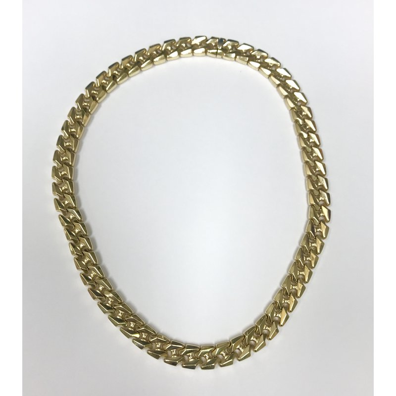Antique, Estate & Consignment Gold Link Necklace