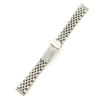 Stainless Steel 15mm Formula One Bracelet