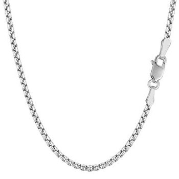 Rounded Box Chain - 18""