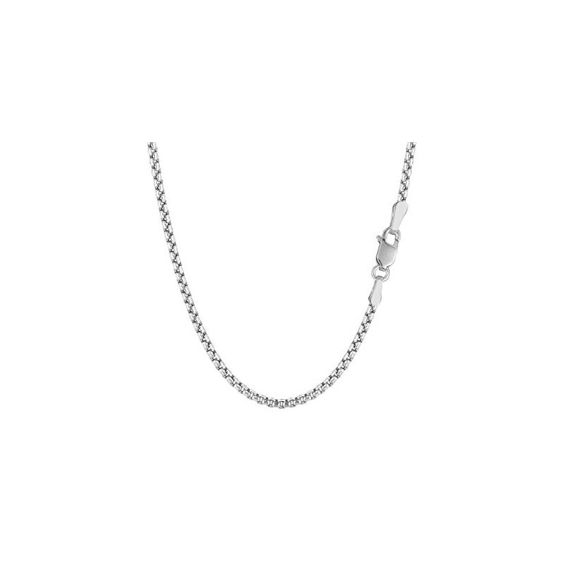 """Adrienne Designs Rounded Box Chain - 18"""""""