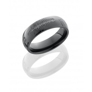 Black Zirconium Soundwave Band