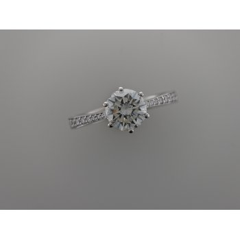Six Prong Diamond Engagement Ring R2941