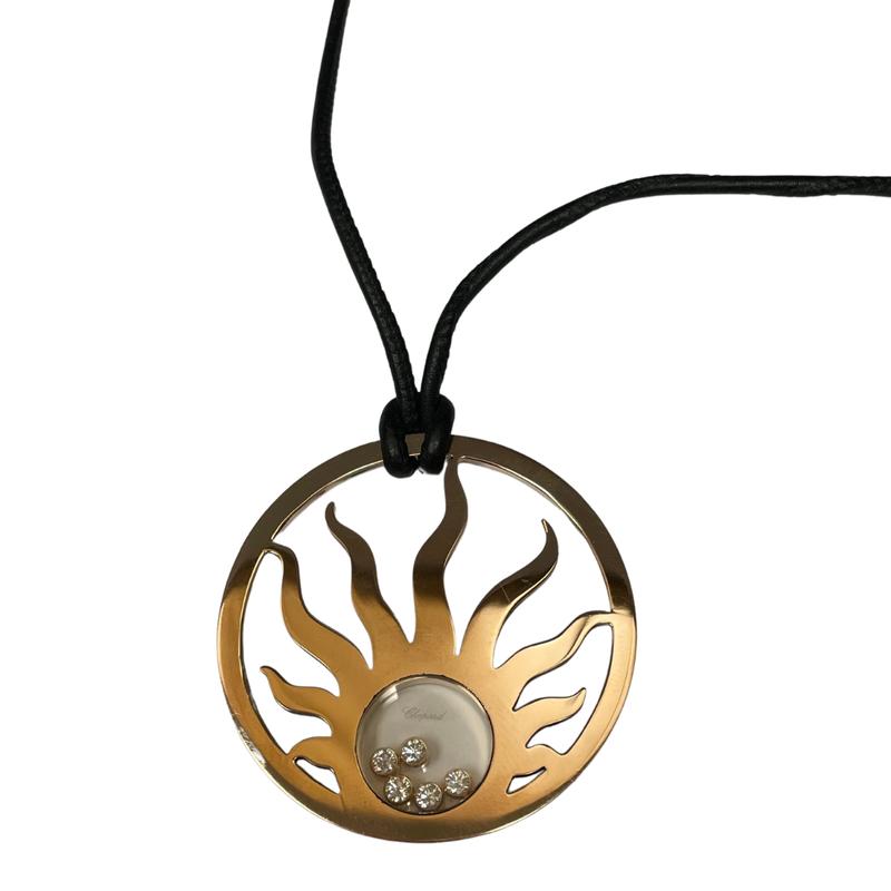 Antique, Estate & Consignment Chopard Happy Sun Necklace