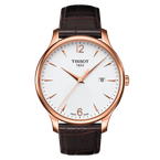 Tissot Tradition with Rose Tone Steel Case