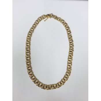 Gold Double Link Chain